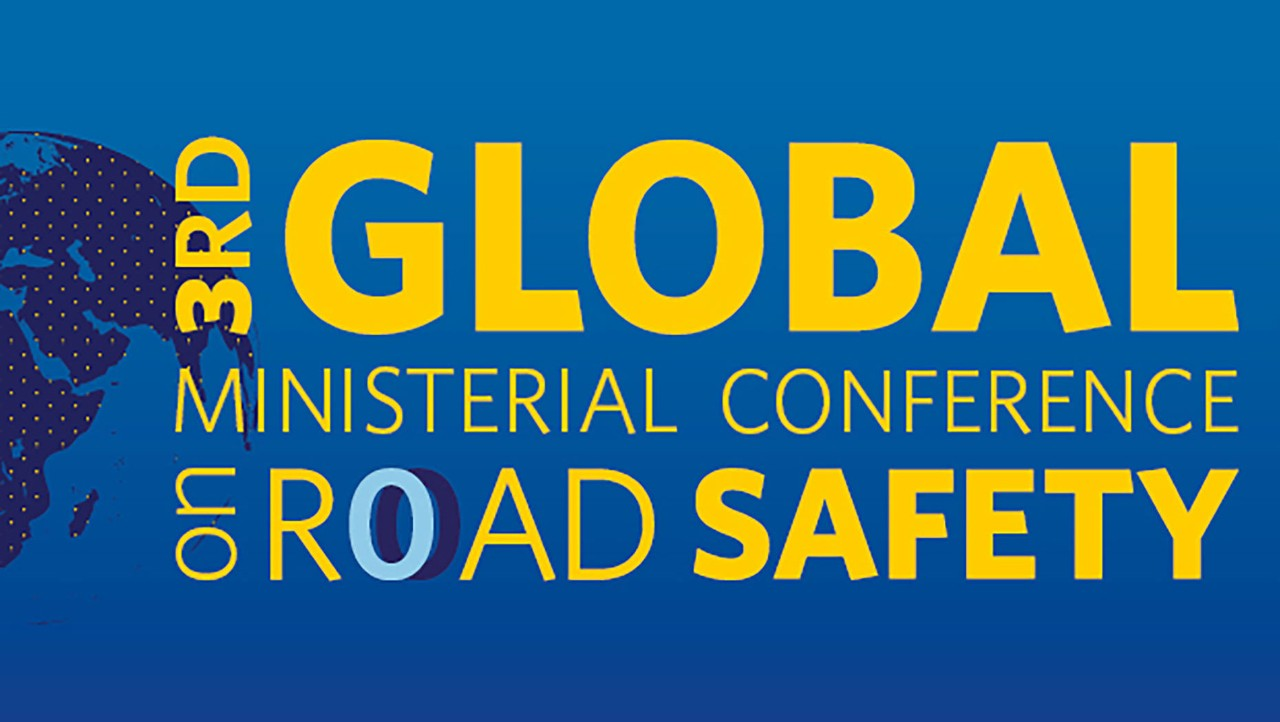 Logo van Global Ministerial Conference on Road Safety
