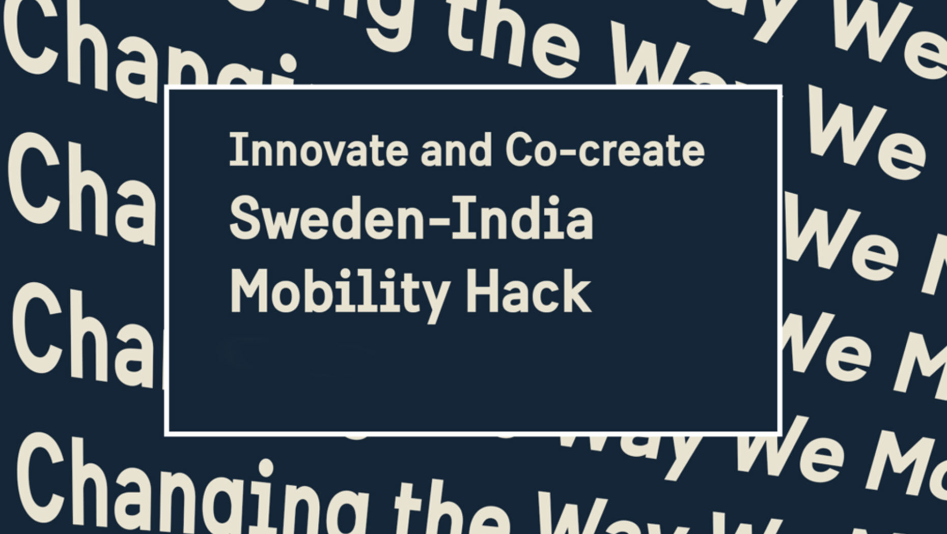 Sweden-India online Mobility Hack