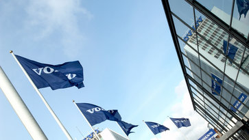 Volvo Group flags