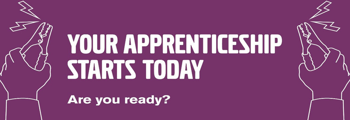 Your Apprenticeship starts today