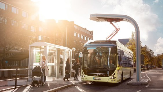 Volvo Technology Award Recipient 2016 - Electric bus