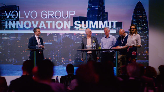 Panel at Volvo Group Innovation Summit London