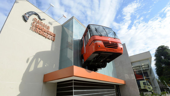 Volvo Traffic Safety Program and Exhibition Center in Brazil