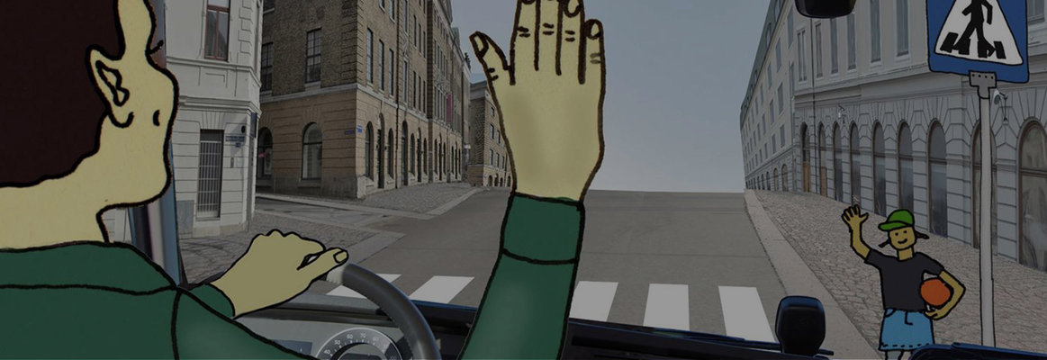 The stop look wave training kit - Animated interactive story