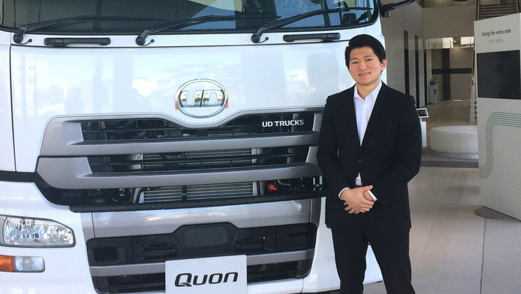 Toru Hirata, Event and Marketing Assistant Manager, UD Trucks