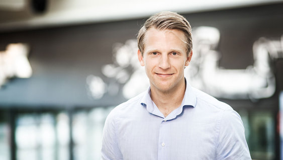 Oscar Petersson - CEO of Annotell, one of Volvo's partners at CampX