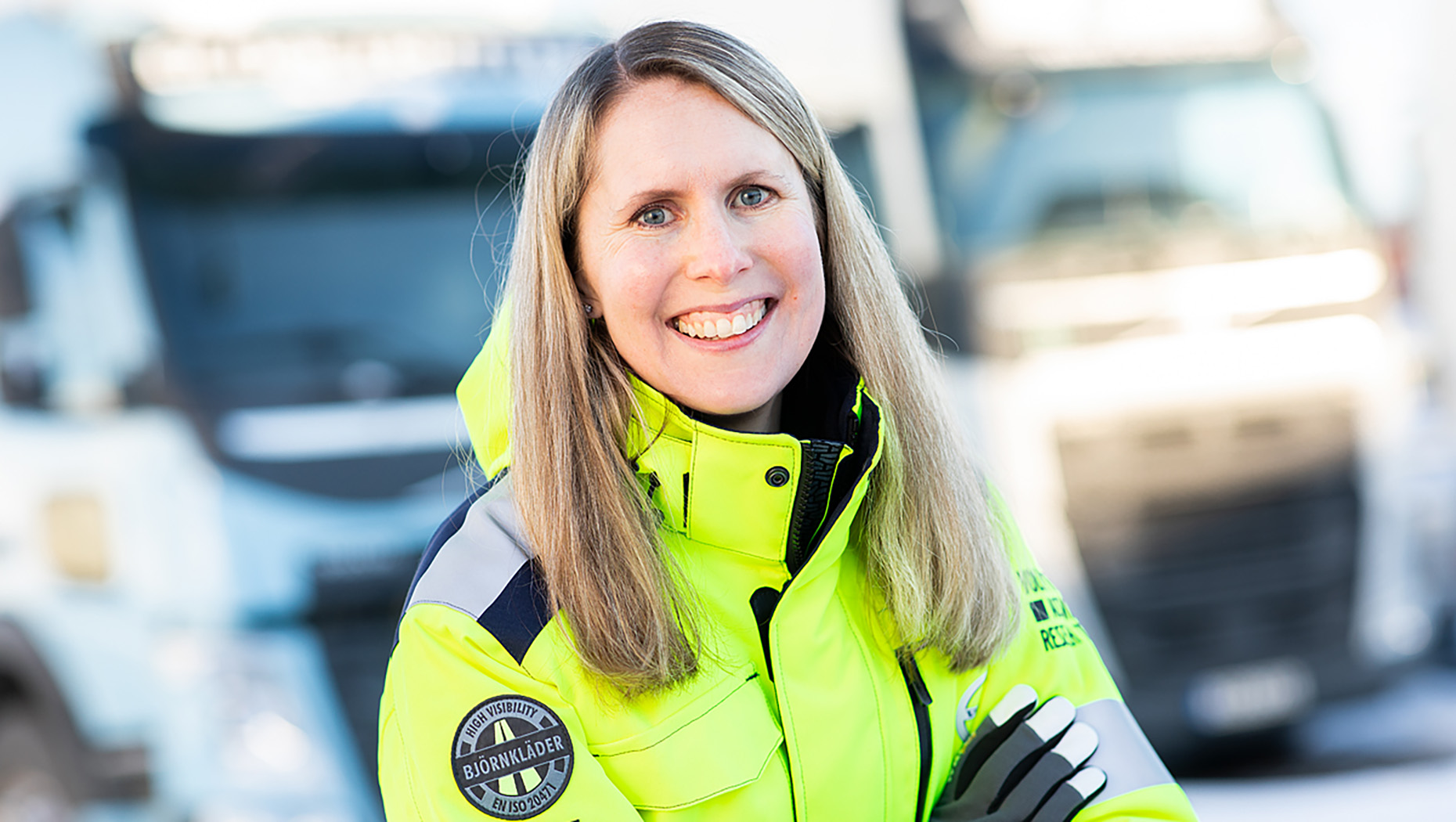 Anna Theander, Accident Research Team Leader at Group Trucks Technology, Volvo Group