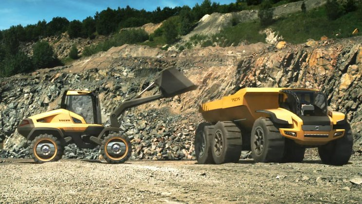 Volvo Construction Equipment: Autonomous machines - keeping humans out of danger
