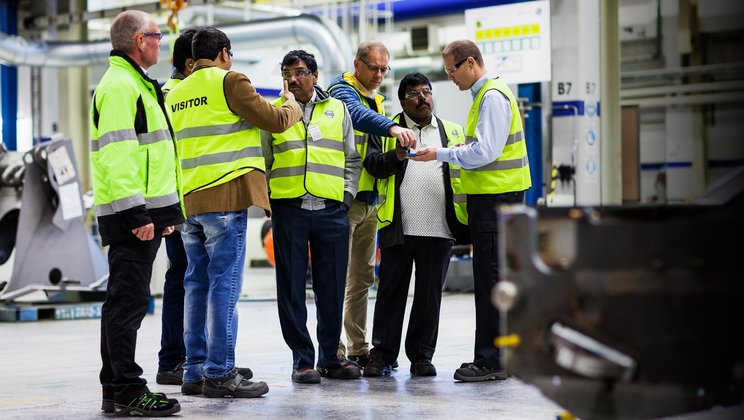 Even if the Arvika plant has created effective routines for customer visits, it is constantly attempting to refine and improve the processes to make things even better.
