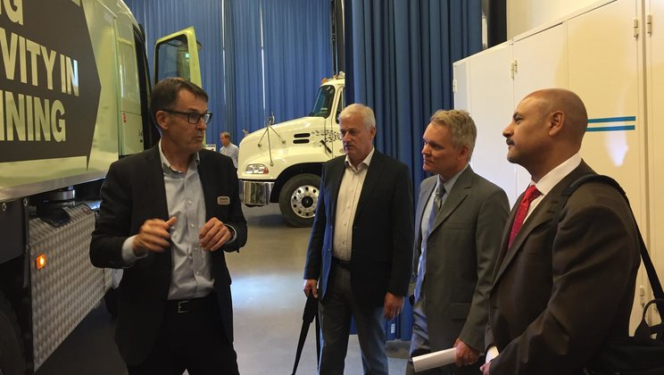Volvo Group is working with the state of California to reduce overall emissions