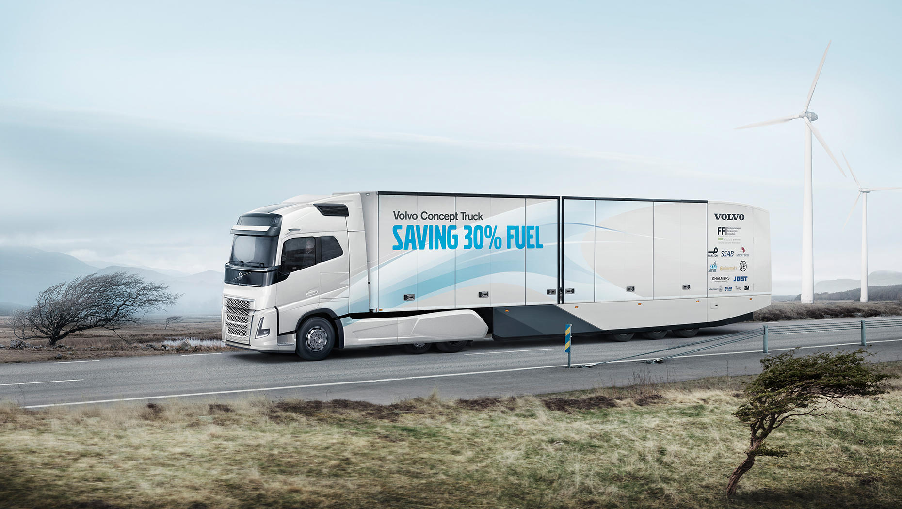 Volvo Trucks' new concept vehicle shows how it is possible to drastically boost productivity in long-haul operations.