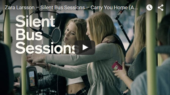 Zara Larsson - Silent City Sessions - Carry you home
