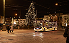 ElectriCity offers Gothenburg's citizens a mobile, electricity-powered Christmas show