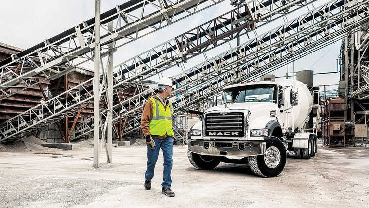 Mack Trucks Announces Product Lineup   for World of Concrete 2017