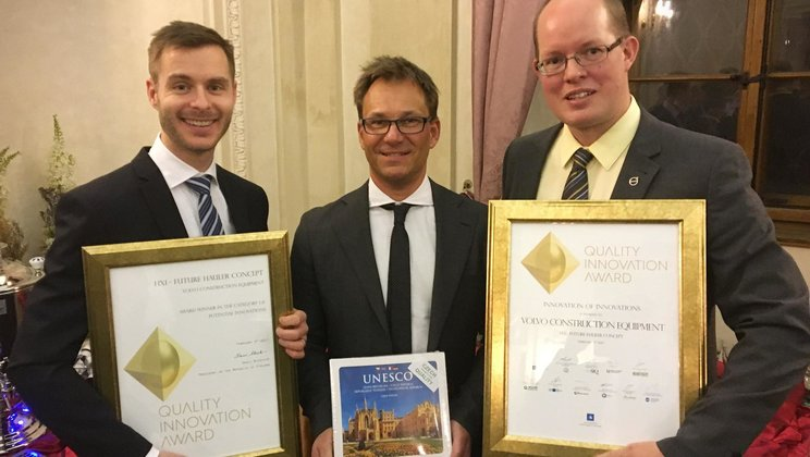 Volvo receives the awards