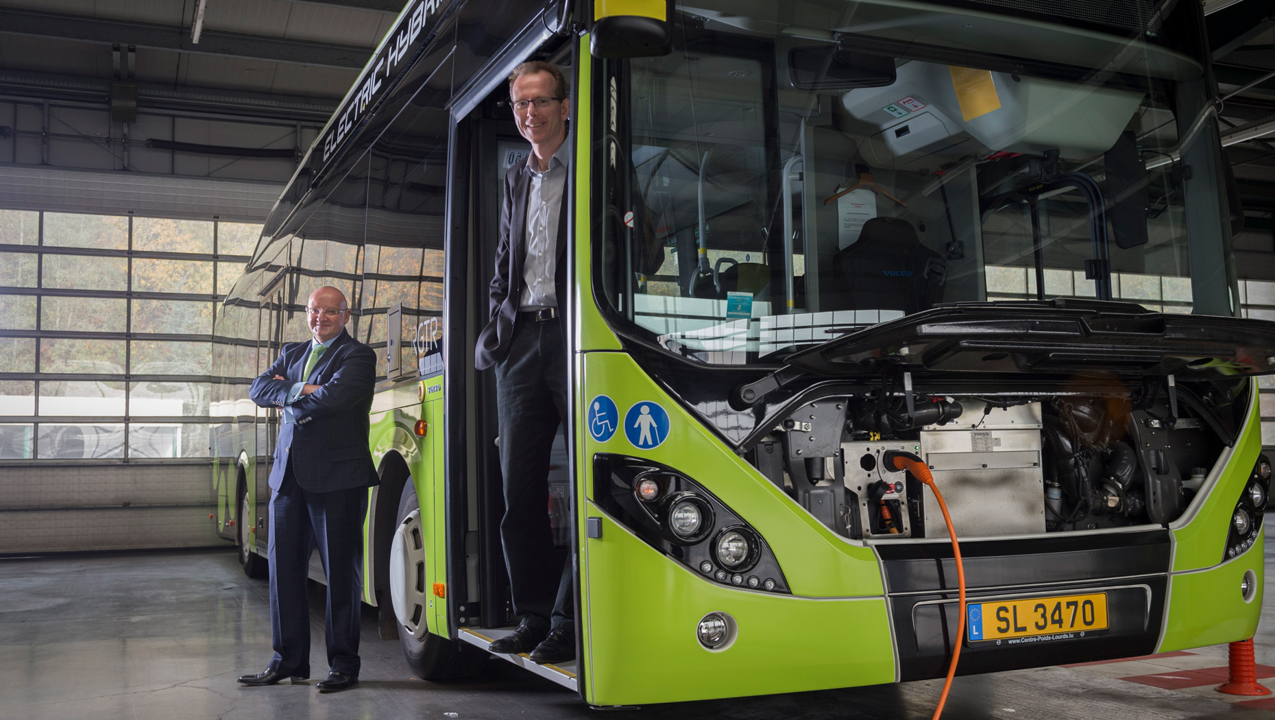 Sales-Lentz makes electric change together with Volvo Buses | Volvo Group