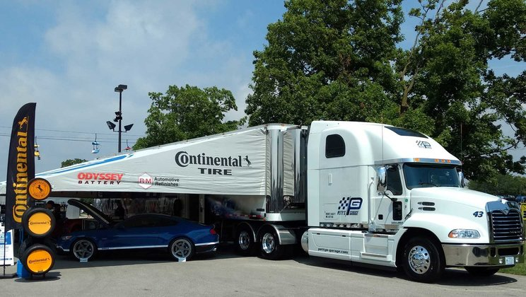 Mack Trucks Partners with Petty's Garage