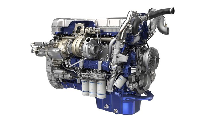 Volvo D13 Turbo Compound Engine Powers