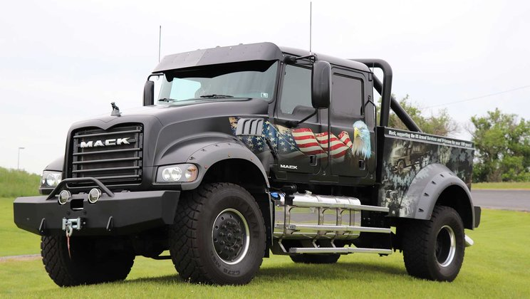 Mack Trucks Participates in 30th Annual Ride for Freedom to Honor Fallen Military Heroes