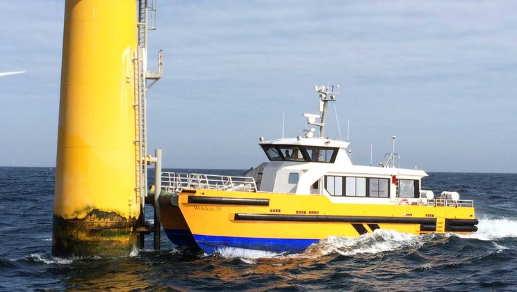 Volvo Penta Stakes Leadership Position in Wind Farm Support Vessels