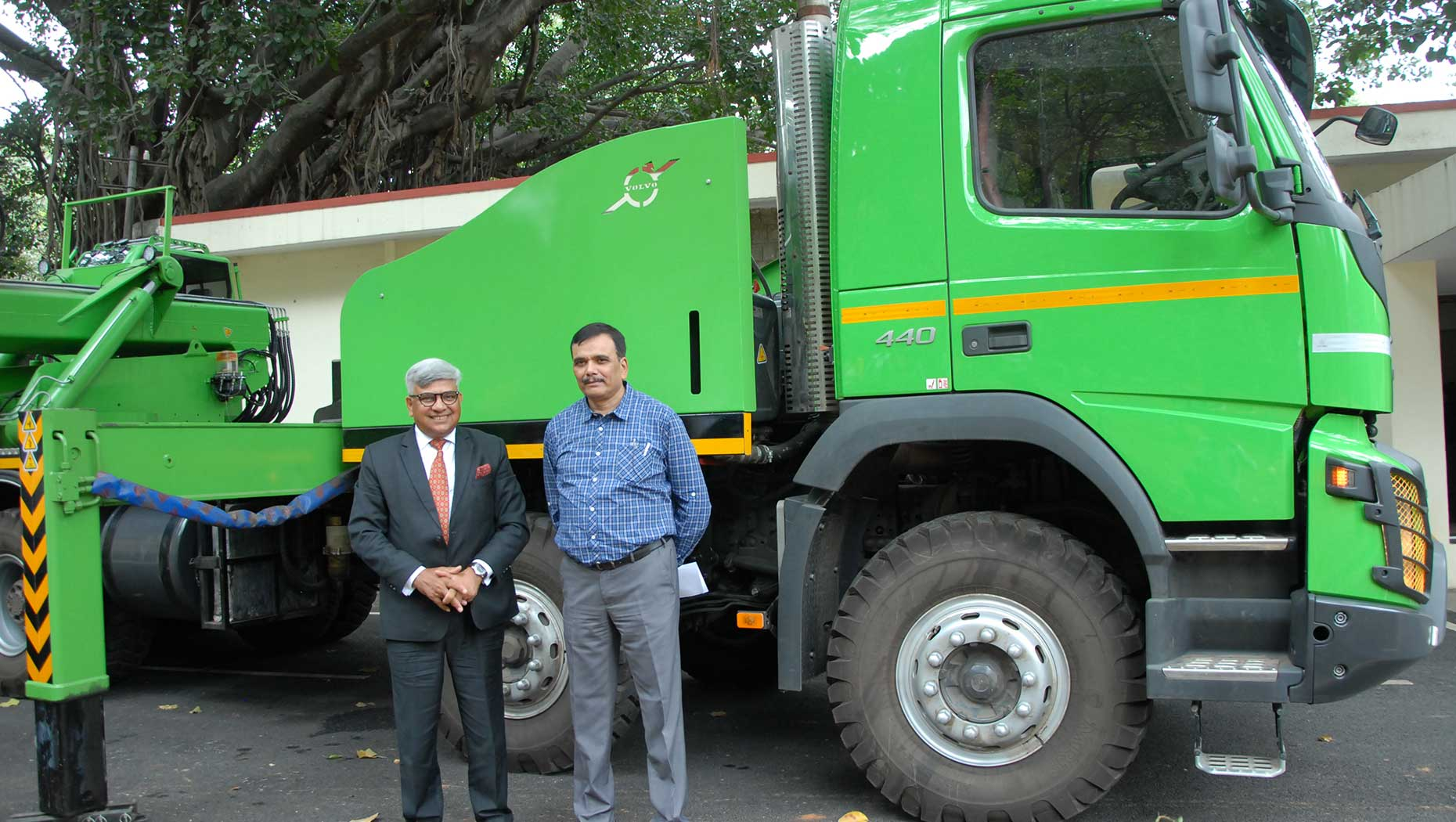 Green Cover Retention 2017: A seminar organized by Institute of Wood Science and Technology and Volvo Trucks India