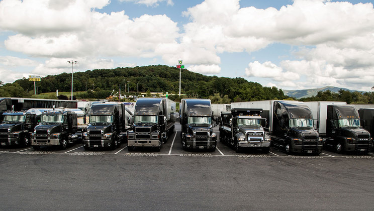 New Mack Trucks Models Make Bold Statement  During Two-Day Convoy