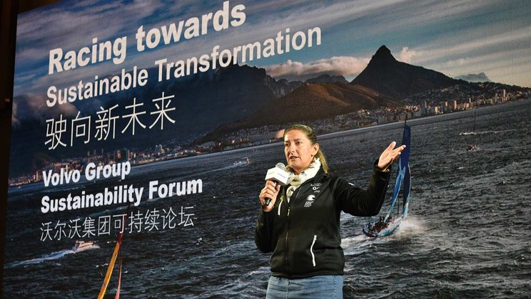 Sustainability Forum hosted at Volvo Ocean Race stop in China