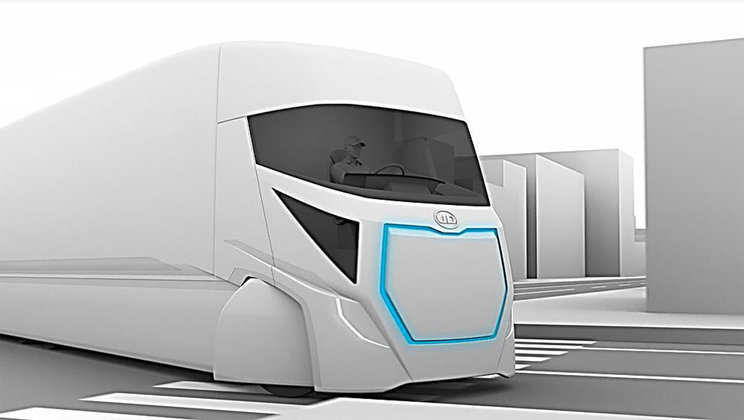 UD Trucks' vision to offer fully electric autonomous trucks
