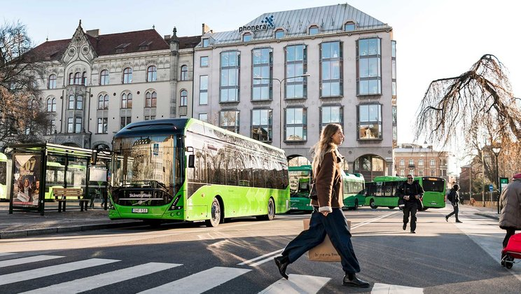 Start of regular operations for Volvo electric buses