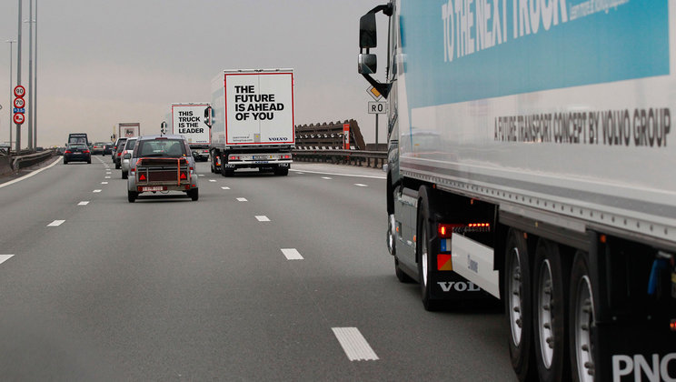 Truck platooning on European roads