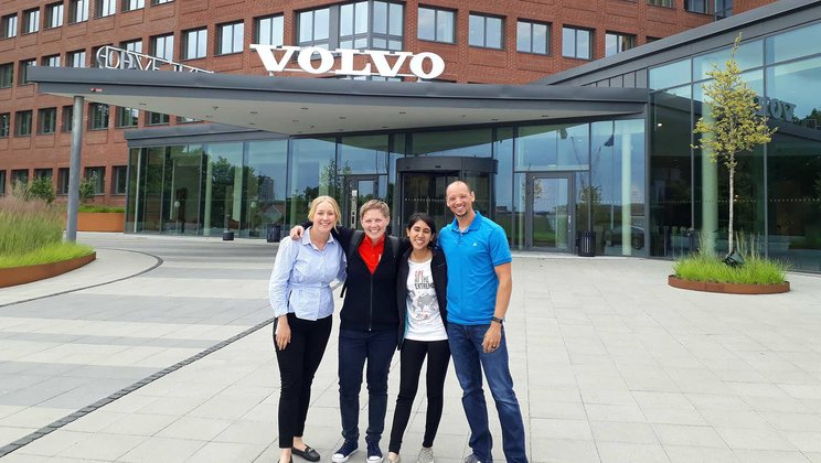 Experiencing the home of Volvo