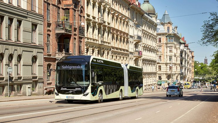 Volvo receives Sweden's largest order ever for electric buses