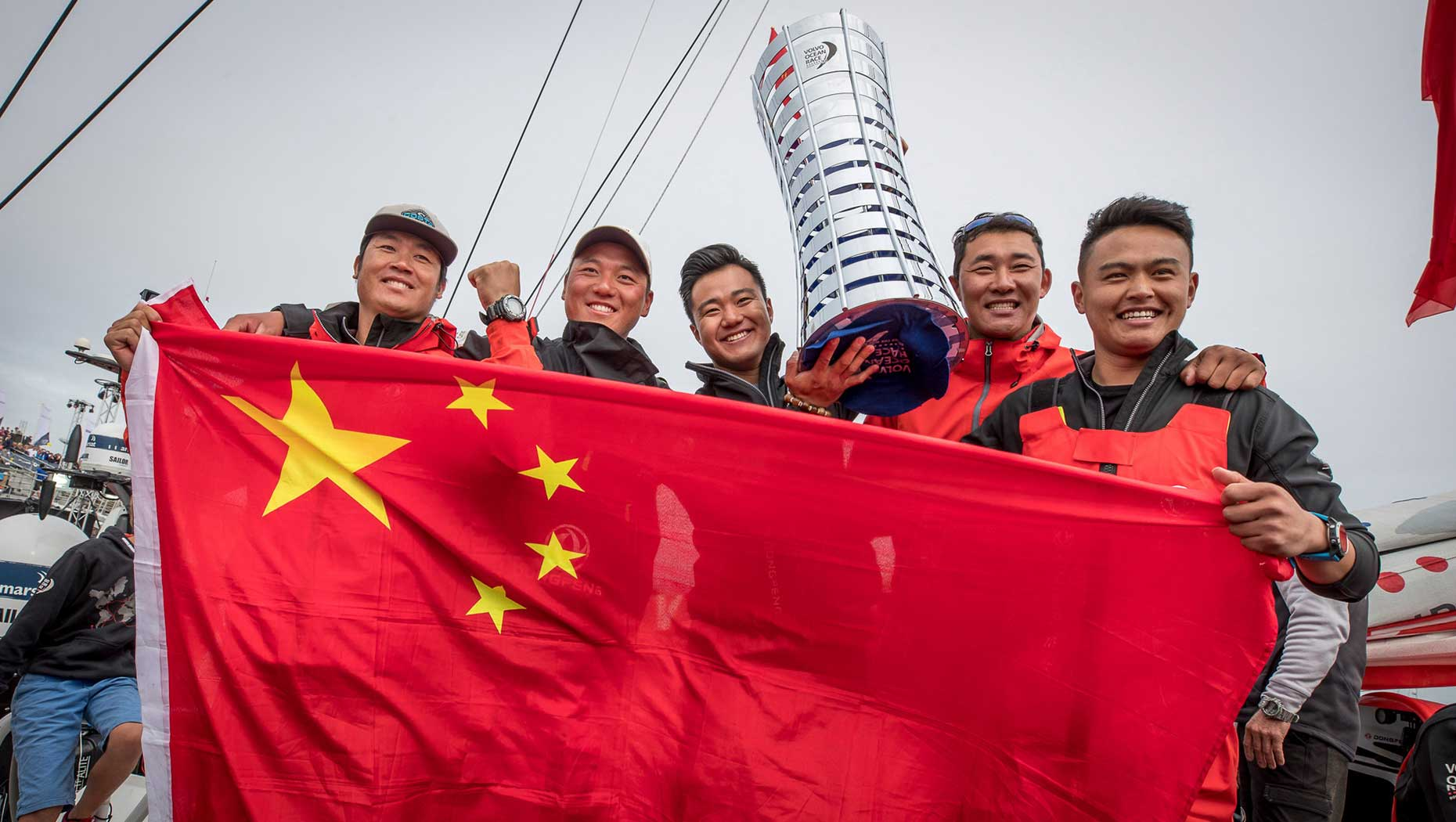 Dongfeng Race Team wins the Volvo Ocean Race