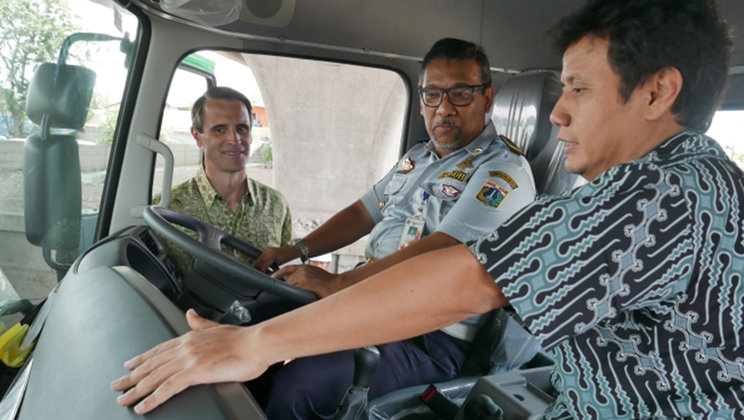 CSR Initiative in Indonesia: Empowering truck drivers to drive safe