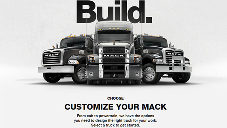 Mack Trucks Online Configurator Lets Customers Design Their Mack Anthem® Model