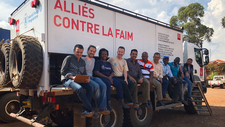 Renault Trucks on a mission in Uganda