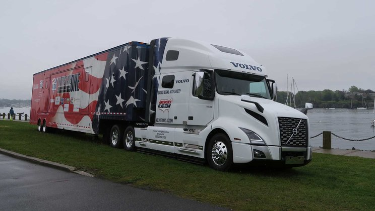 Volvo Trucks Reinforces Commitment to Professional Truck Drivers with Dedication of New VNL 760 Model to America's Road Team