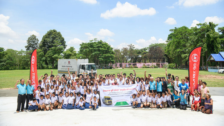 CSR Initiative at UD Trucks Thailand