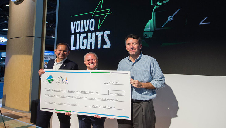 Volvo LIGHTS Project Check Presented at ACT Expo 2019