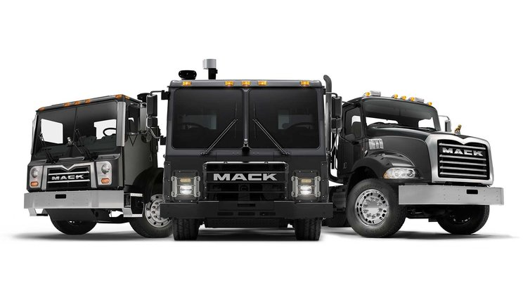 Fully Electric Mack LR Model