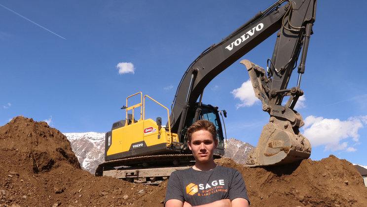 The three-part video series from Volvo CE shows how a teenage entrepreneur and demolition business owner is paving the way for construction's next generation.