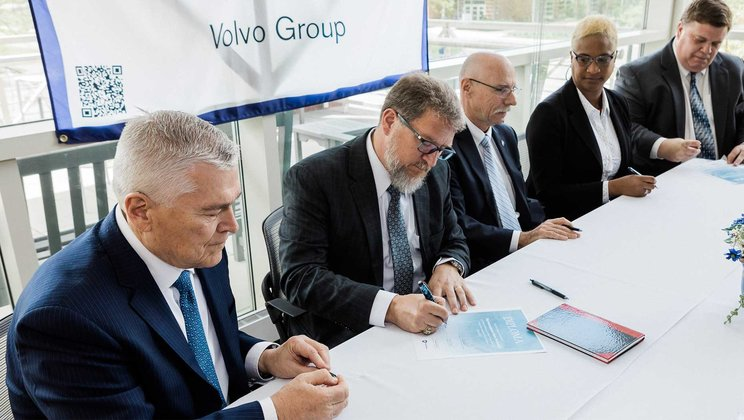 Volvo Group Signs Academic Preferred Partner Agreement with The Pennsylvania State University