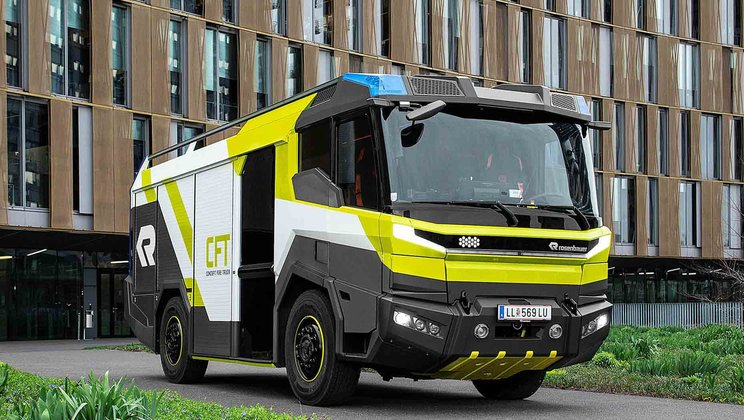 Volvo Penta to develop electric driveline for Rosenbauer