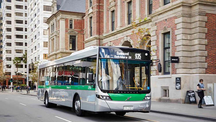 Volvo's latest Euro 6 B8RLE buses