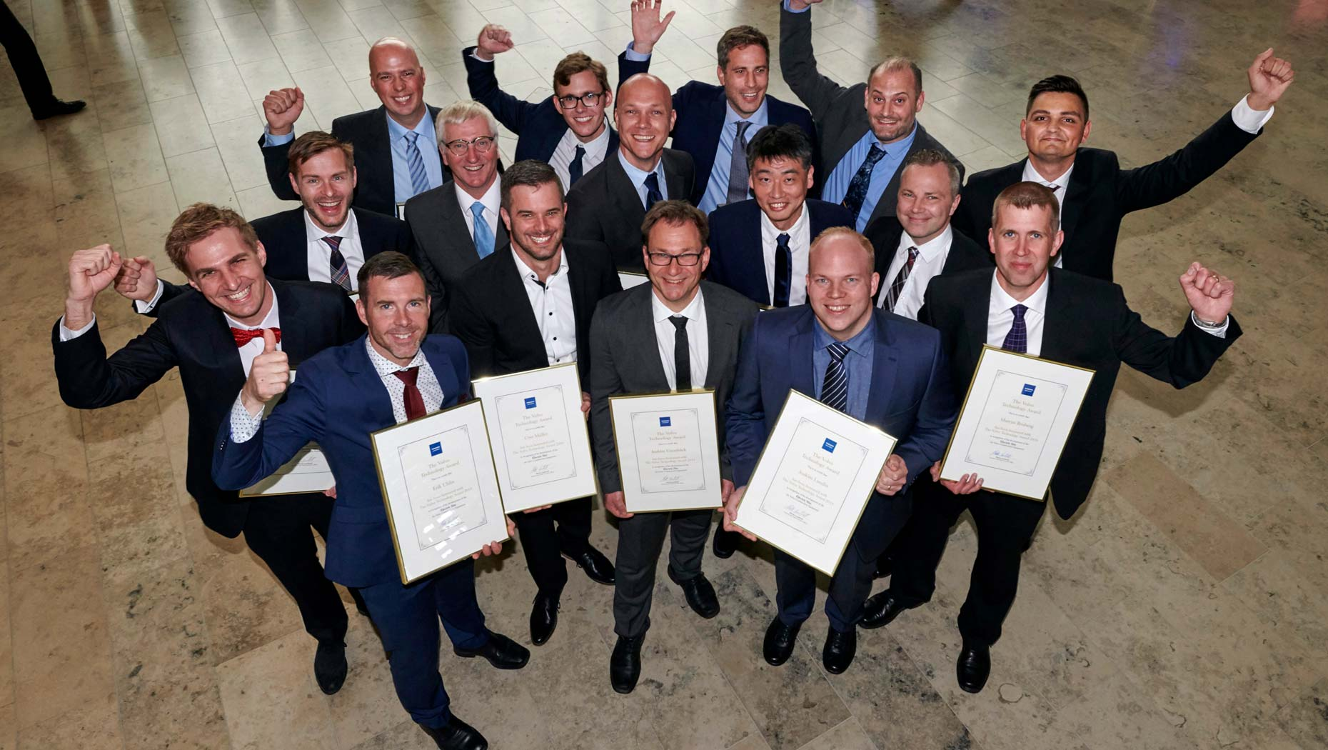 Electric Site wins Volvo Technology Award