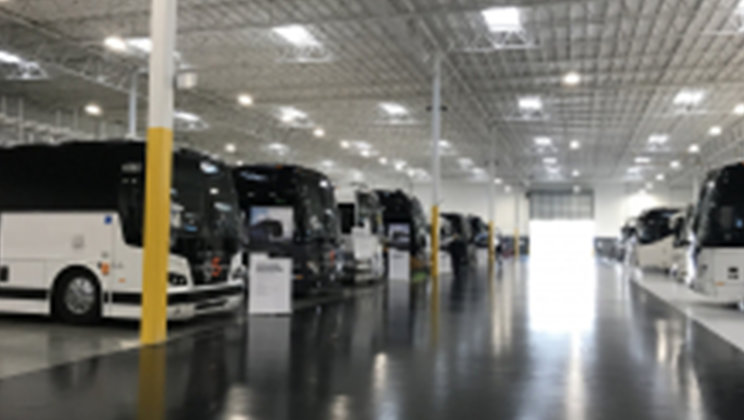 Prevost, a leading coach manufacturer, is celebrating the opening of Prevost's largest Service Center in North America