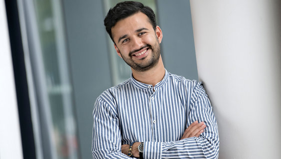 Khalid Pirgul, summer worker at Volvo Group