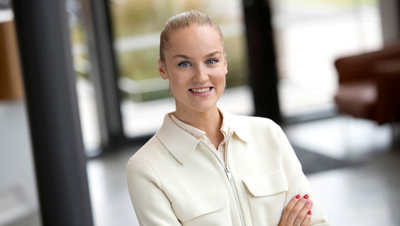 Maria Zetterberg, summer worker at Volvo Group