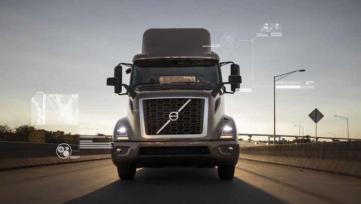 Volvo Trucks North America Reaches 200,000-Unit Connectivity Milestone
