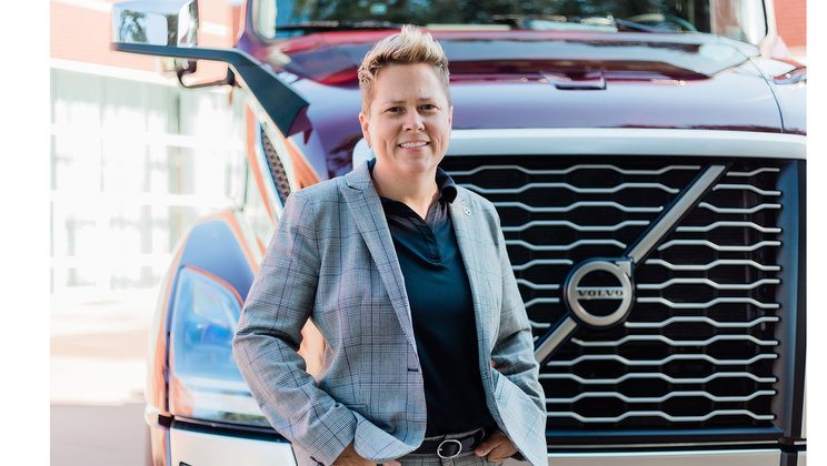 Christina Ameigh, regional vice president, western region at Volvo Trucks North America